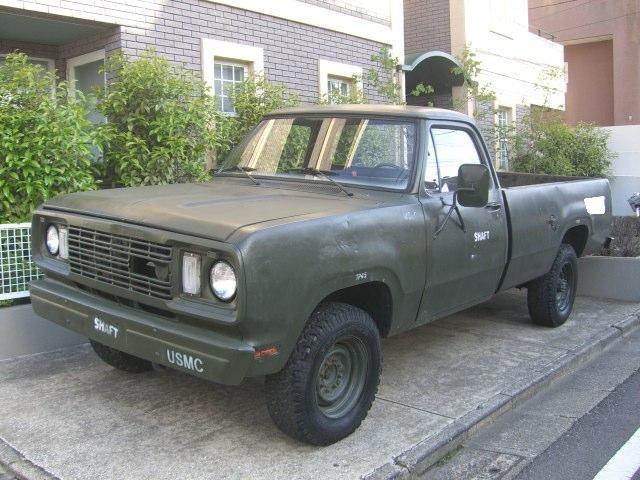 DODGE military pickup ダッチ軍用ピックアップ