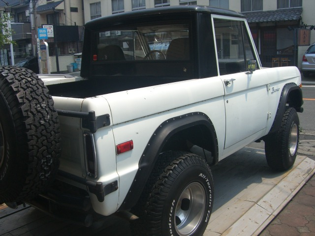 FORD Early Bronco フォード アーリーブロンコ