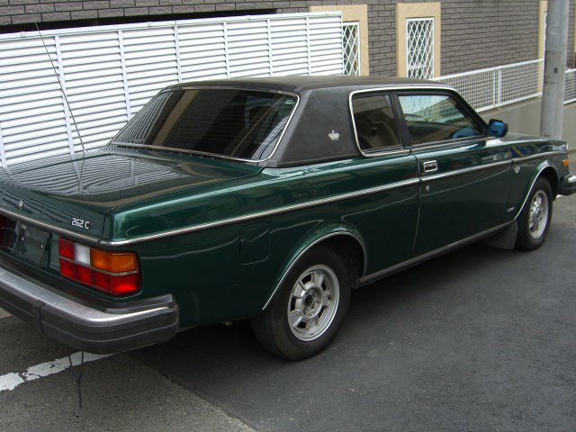 VOLVO 262 coupe ボルボ クーペ デソート