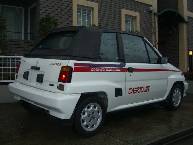 HONDA CITY CONVERTIBLE  中古車 ホンダ シティ オープンカー デソート